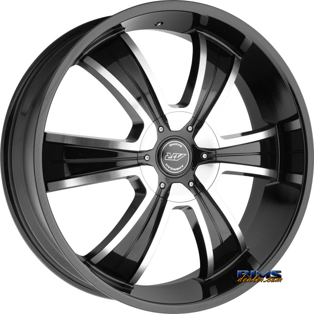 Pictures for AMERICAN RACING AR894 Black Gloss w/ Machined