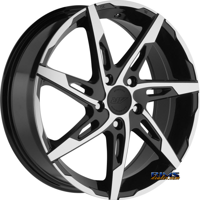 Pictures for AMERICAN RACING AR900 Black Gloss w/ Machined