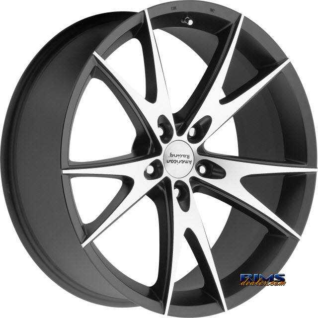 Pictures for AMERICAN RACING AR903 Black Gloss w/ Machined