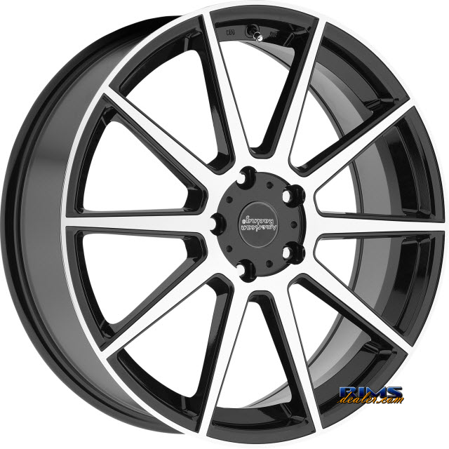 Pictures for AMERICAN RACING AR908 Black Gloss w/ Machined