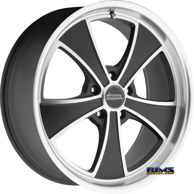 Pictures for AMERICAN RACING VN807 Satin Black