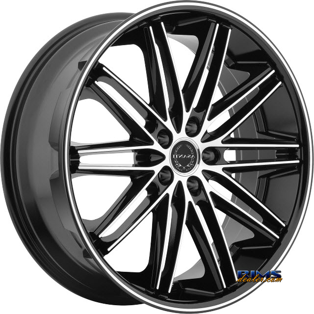 Pictures for Asanti Wheels ABL-10 Machined Black w/Black Lip