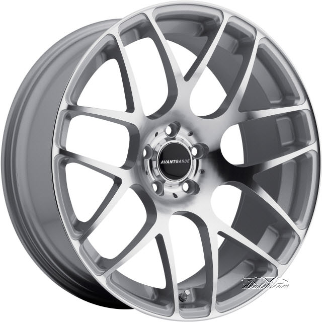 Pictures for Avant Garde Wheels M310 Machined W/ Silver