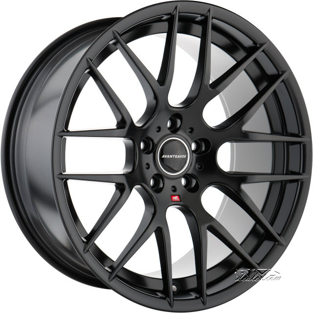 Pictures for Avant Garde Wheels M359 Black Flat