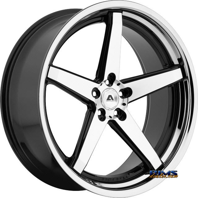 Pictures for Adventus Wheels AVS-2 Black Gloss w/ Machined