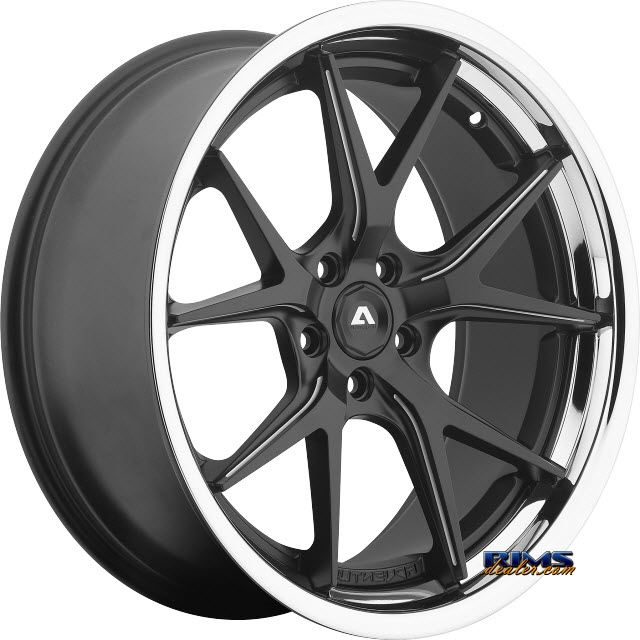 Pictures for Adventus Wheels AVS-3 Black Milled