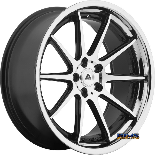 Pictures for Adventus Wheels AVS-4 Black Gloss w/ Machined