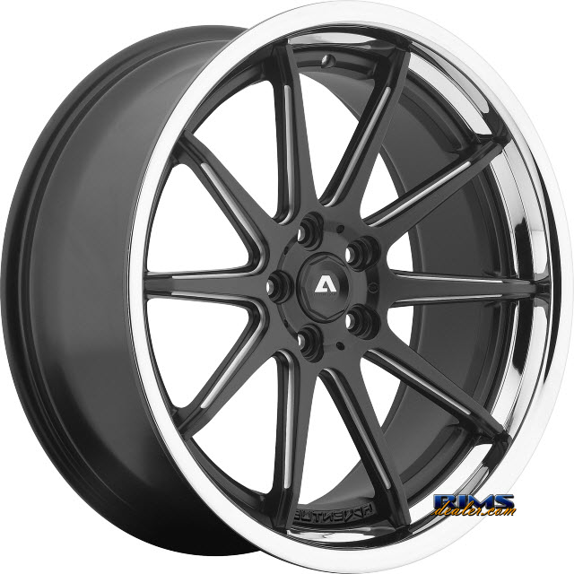 Pictures for Adventus Wheels AVS-4 Black Milled