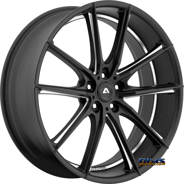 Pictures for Adventus Wheels AVX-10 Black Milled