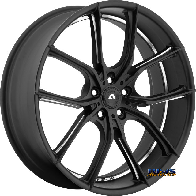 Pictures for Adventus Wheels AVX-6 Black Milled