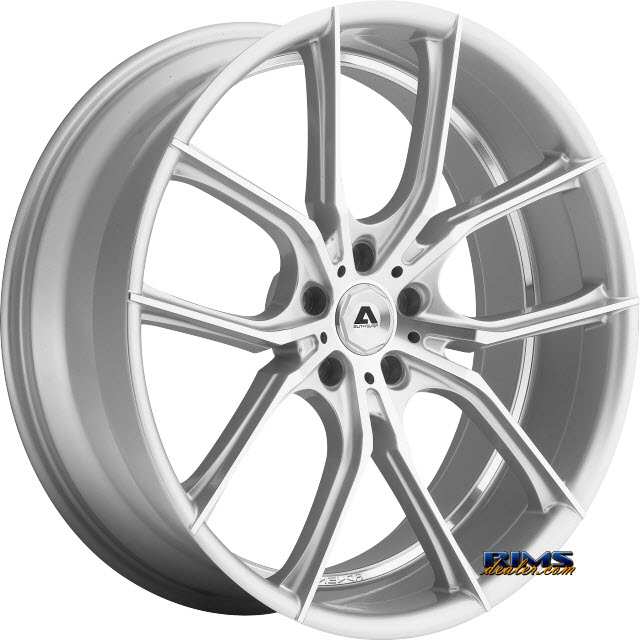 Pictures for Adventus Wheels AVX-6 Machined w/ Silver