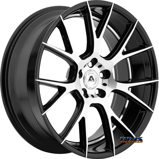 Pictures for Adventus Wheels AVX-7 Black Gloss w/ Machined