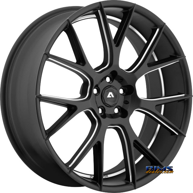 Pictures for Adventus Wheels AVX-7 Black Milled