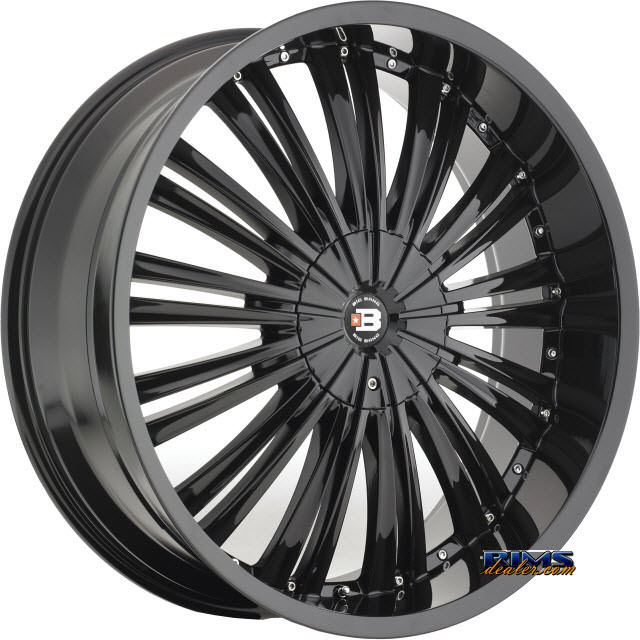 Pictures for BigBang Wheels BB2 black gloss