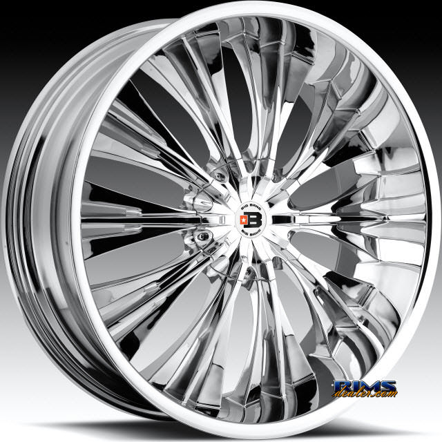 Pictures for BigBang Wheels BB3 chrome