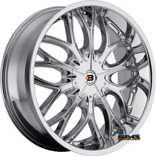 Pictures for BigBang Wheels BB4 chrome
