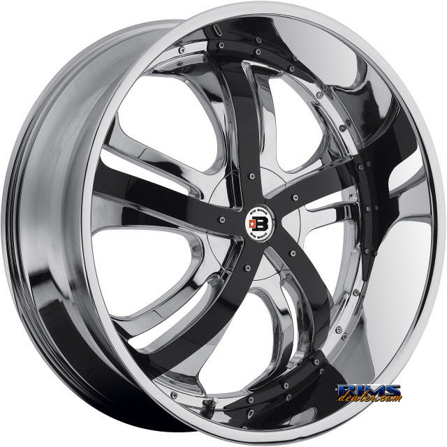 Pictures for BigBang Wheels BB9 chrome