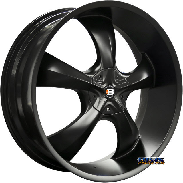 Pictures for BigBang Wheels BB15 Black Flat