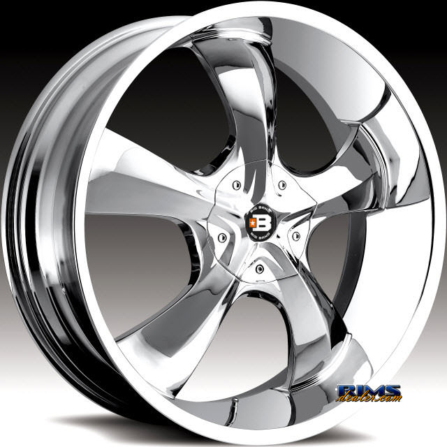 Pictures for BigBang Wheels BB15 Chrome
