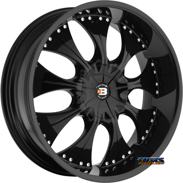 Pictures for BigBang Wheels BB16 Black Gloss