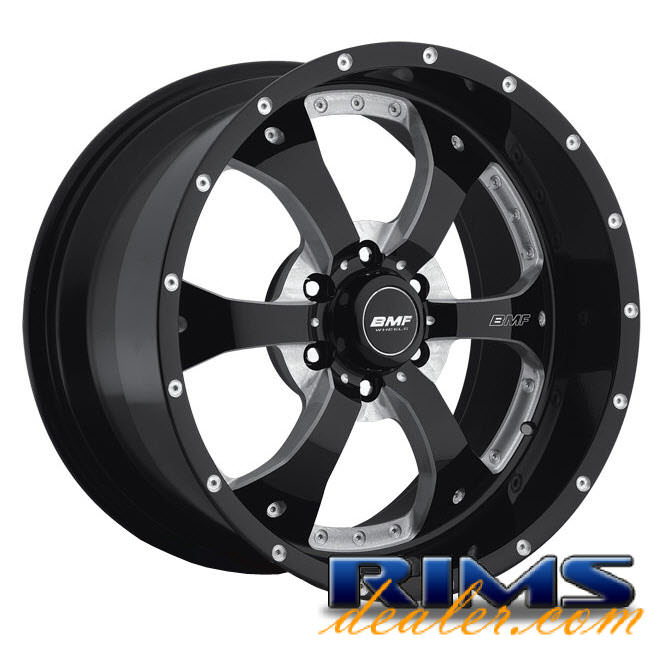 Pictures for BMF Off-Road Novakane (6-Lug) black gloss