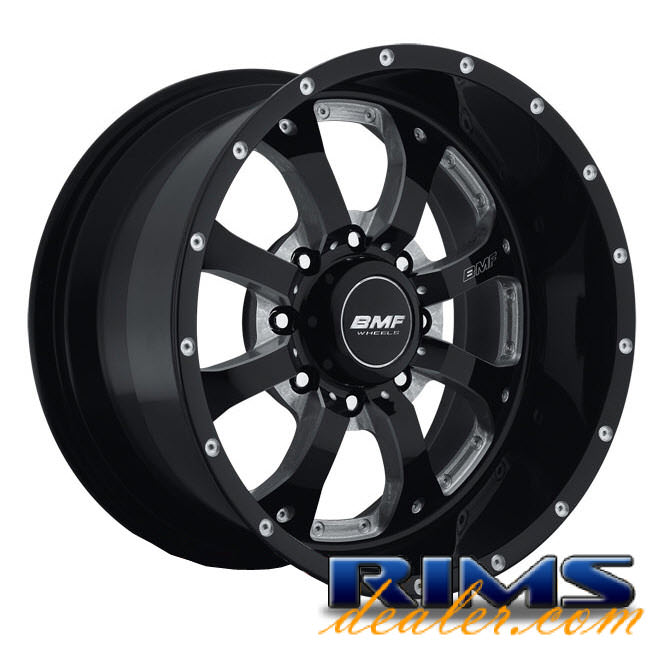 Pictures for BMF Off-Road Novakane (8-Lug) black gloss