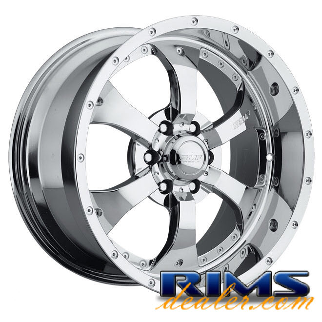 Pictures for BMF Off-Road Novakane (6-Lug) chrome