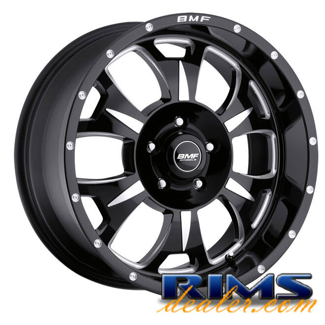 Pictures for BMF Off-Road M-80 (5-Lug) black gloss