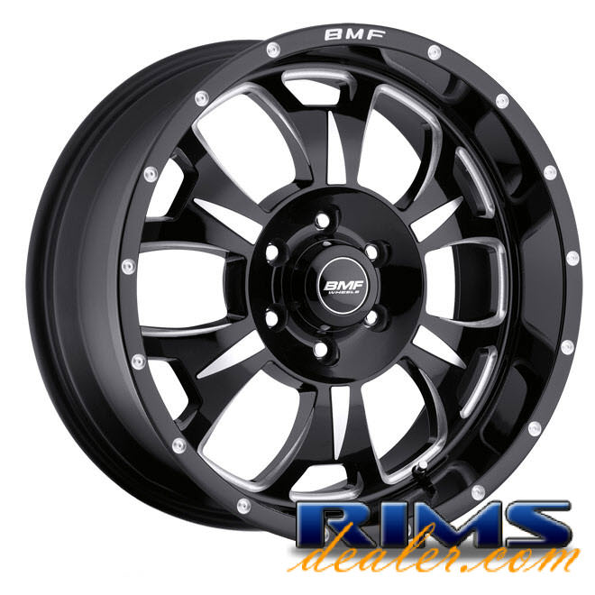 Pictures for BMF Off-Road M-80 (6-Lug) black gloss