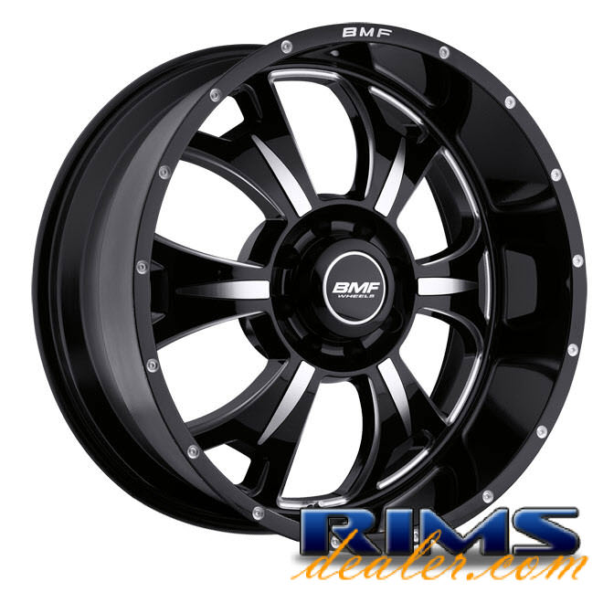 Pictures for BMF Off-Road M-80 (8-Lug) black gloss