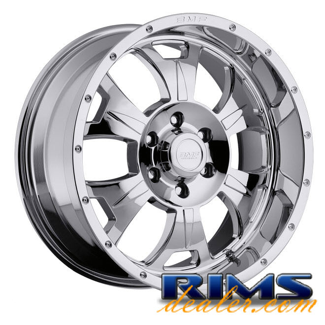 Pictures for BMF Off-Road M-80 (6-Lug) chrome