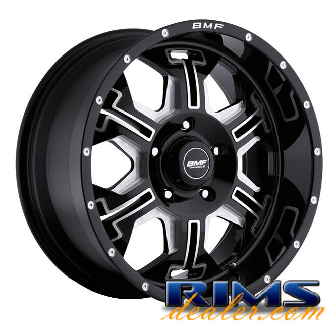 Pictures for BMF Off-Road S.E.R.E. (5-Lug) black gloss