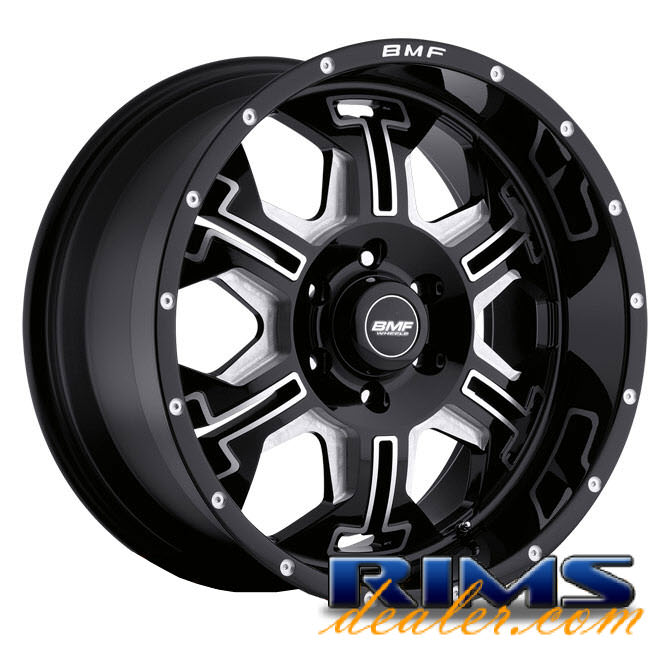 Pictures for BMF Off-Road S.E.R.E. (6-Lug) black gloss