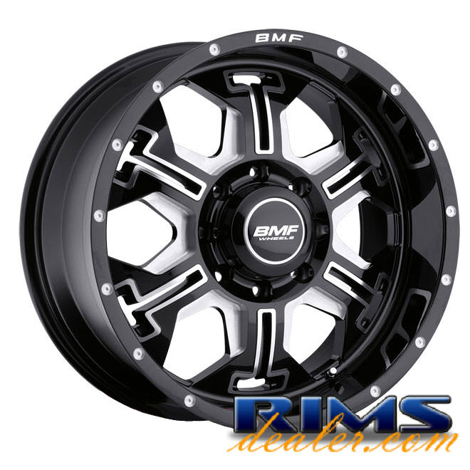 Pictures for BMF Off-Road S.E.R.E. (8-Lug) black gloss