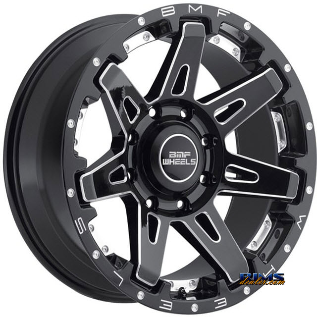 Pictures for BMF Off-Road B.A.T.L. 668B BLACK GLOSS