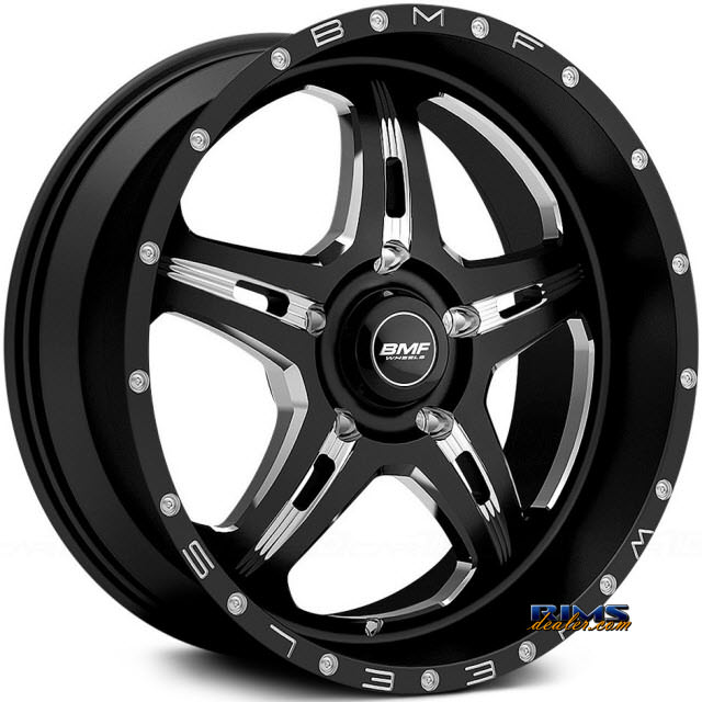 Pictures for BMF Off-Road F.I.T.E 467B - Milled BLACK GLOSS