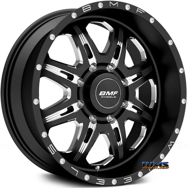 Pictures for BMF Off-Road F.I.T.E 667B BLACK GLOSS