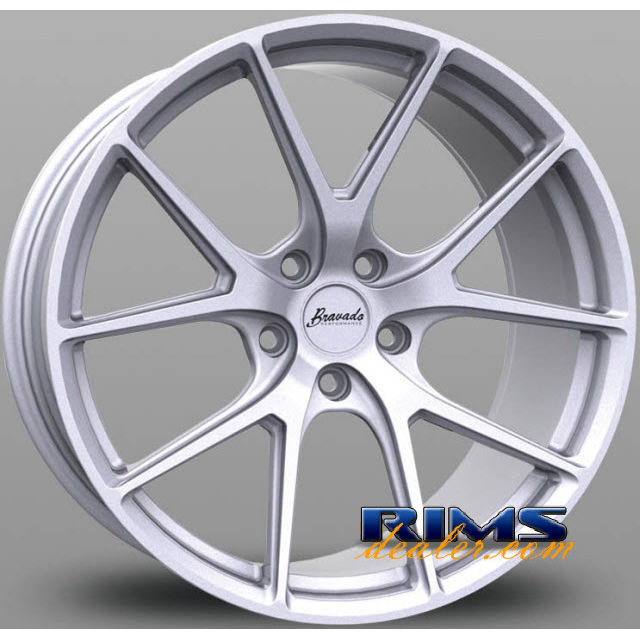 Pictures for Bravado Performance Tribute silver flat