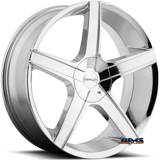 Pictures for Cavallo Wheels CLV-3 chrome