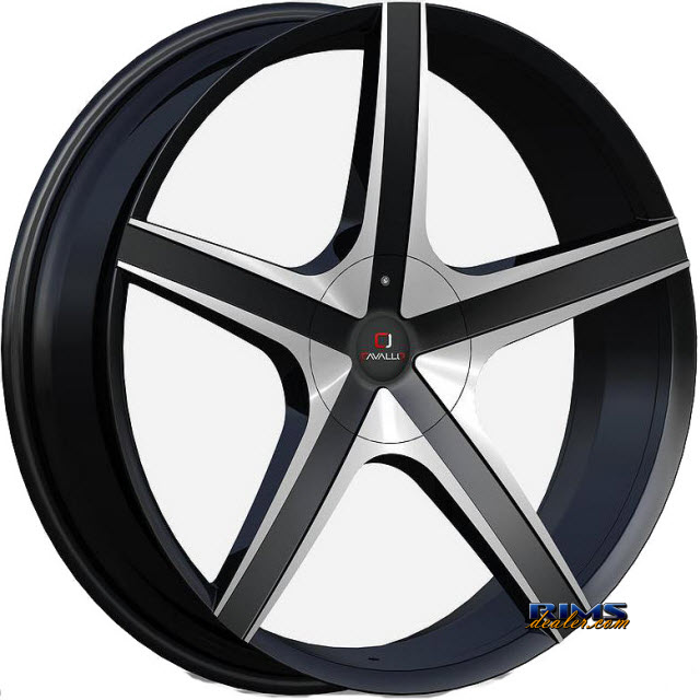 Pictures for Cavallo Wheels CLV-3 machined w/ black