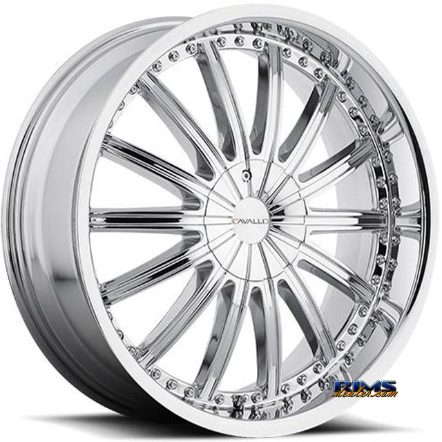 Pictures for Cavallo Wheels CLV-6 chrome