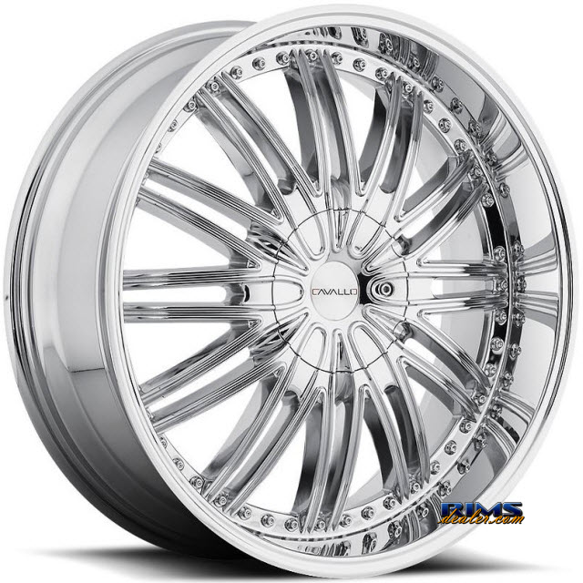 Pictures for Cavallo Wheels CLV-7 chrome