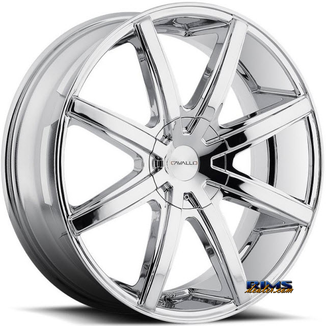 Pictures for Cavallo Wheels CLV-8 chrome