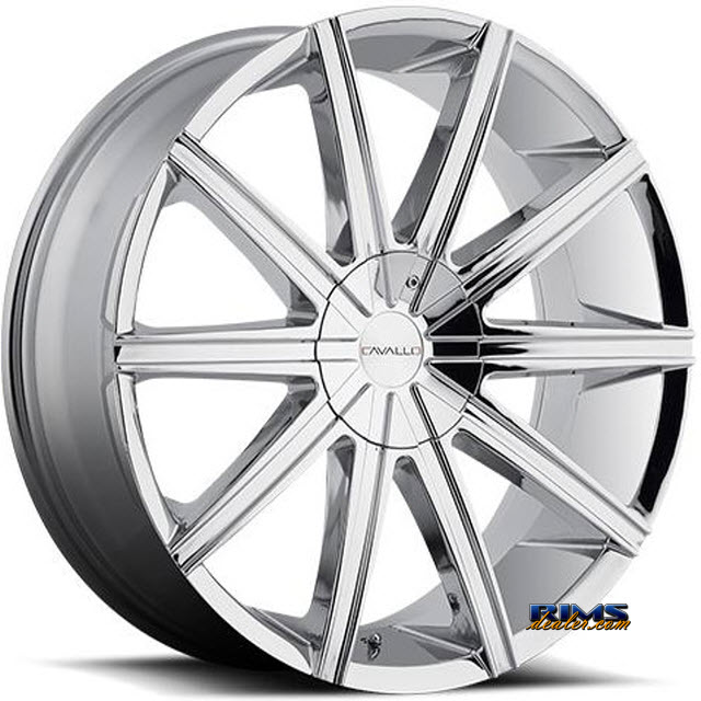 Pictures for Cavallo Wheels CLV-9 chrome