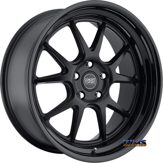 Pictures for Concept One CSL-5.5 - BKL GLOSS LIP black flat