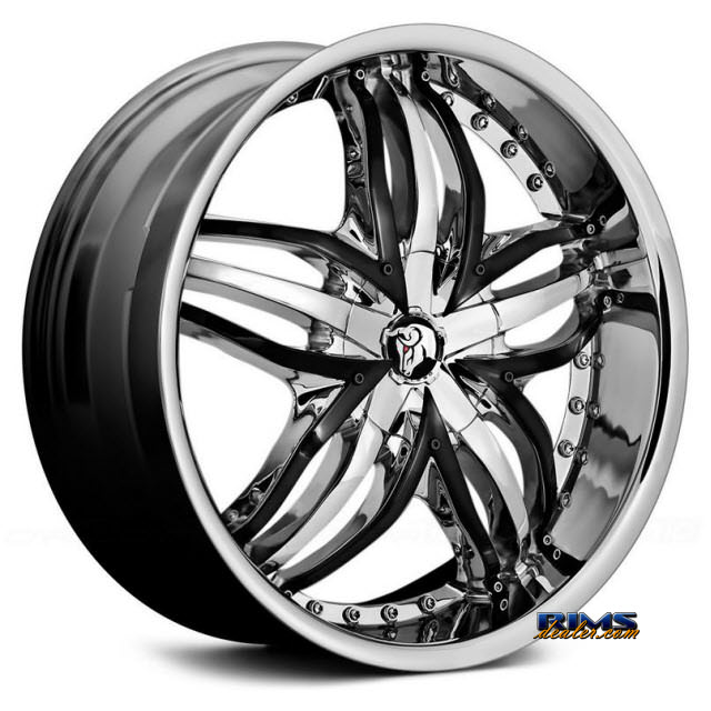 Pictures for Diablo Wheels ANGEL Chrome