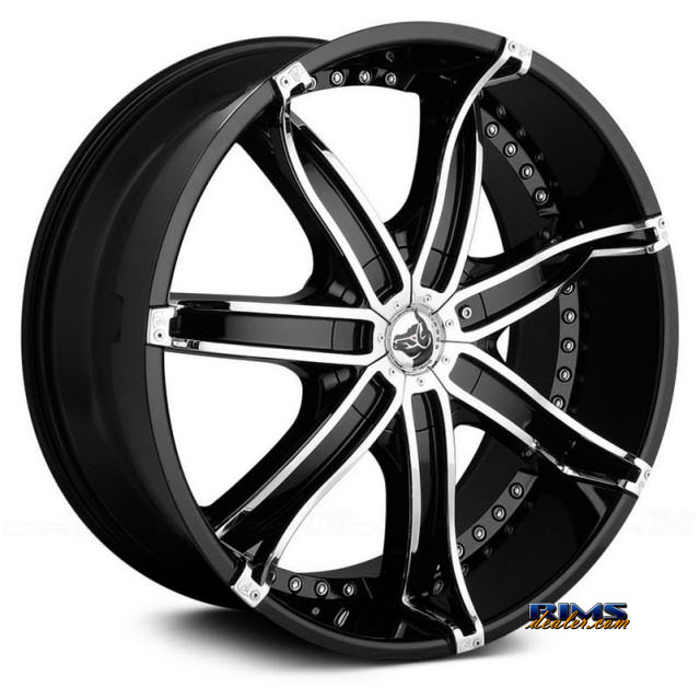 Pictures for Diablo Wheels DNA Black Gloss