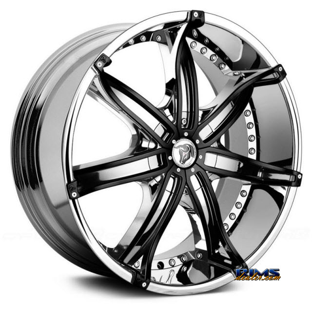 Pictures for Diablo Wheels DNA Chrome