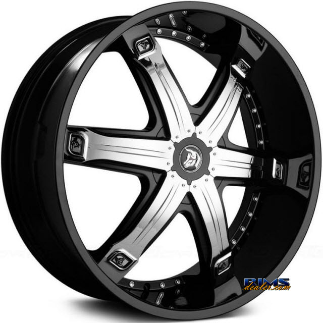 Pictures for Diablo Wheels FURY Black Gloss