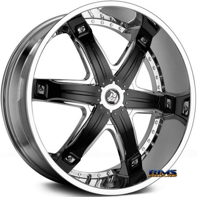 Pictures for Diablo Wheels FURY Chrome